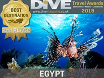 Egypt wins the second place in the 2019 Dive Travel awards